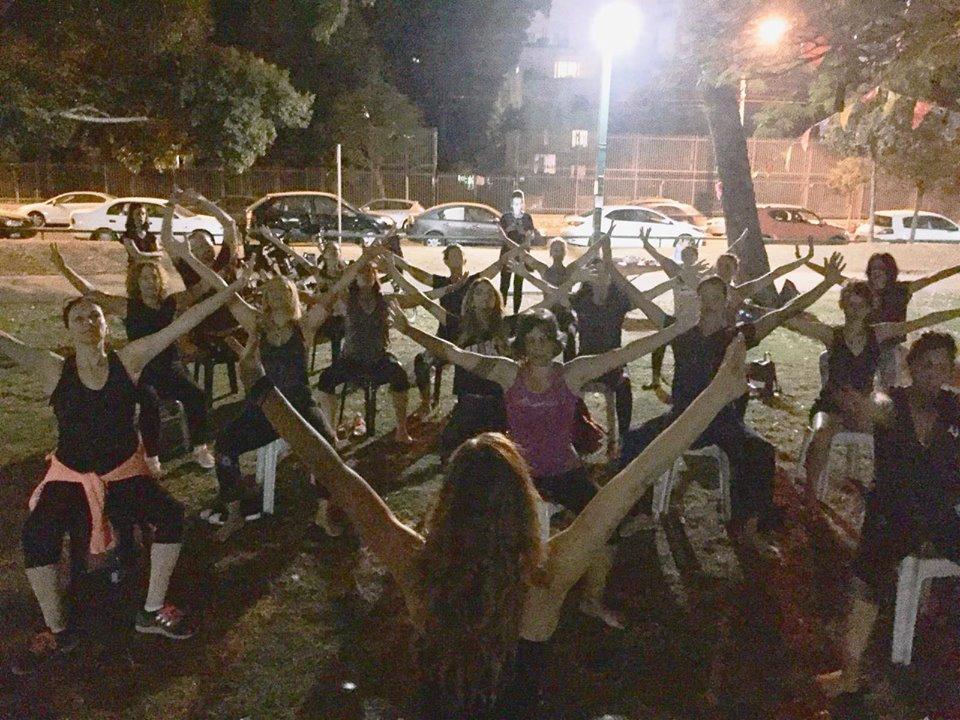 ג'ירוטוניק תל אביב | שיעור ג'ירוקינסיס פתוח בפארק 16.11 שישי